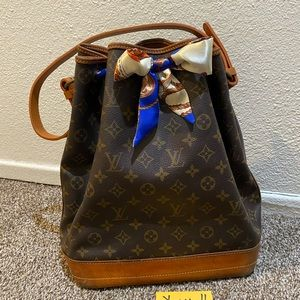Authentic Vintage Louis Vuitton Noe gm